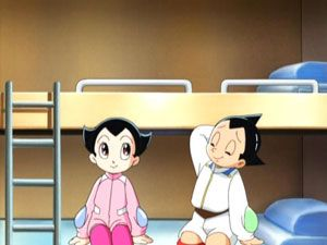 Screen Shot of Astro Boy: Mighty Atom - Visitor of 100,000 Light Years, IGZA.