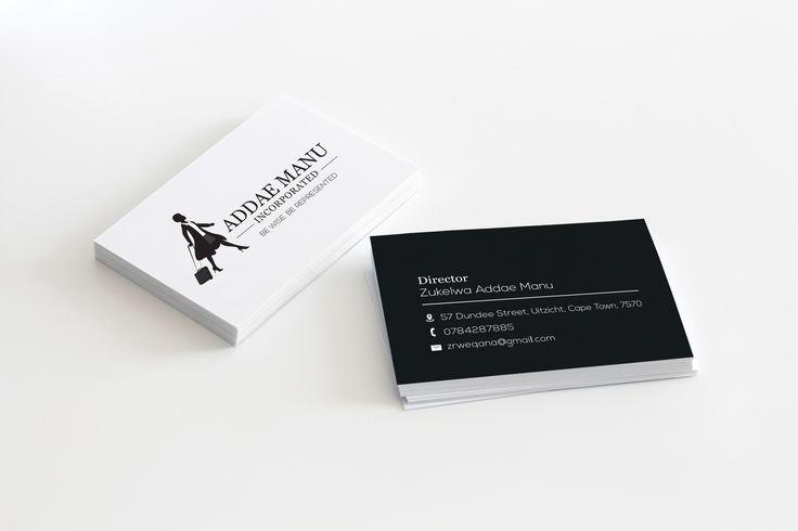 A clean crisp lawyer corporate identity I designed