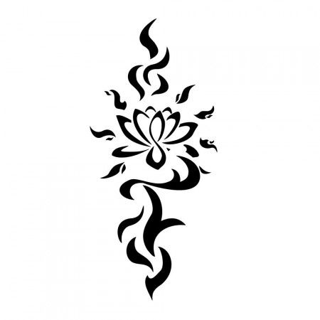 Fire Lotus Tattoo -- not a fire person though so maybe somehow incorporate some waves