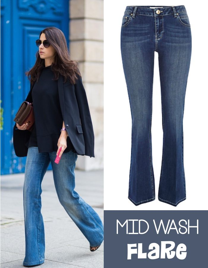 She's Got Flare! Get the look on www.fatfreefashion.com #style #flares #flaredjeans