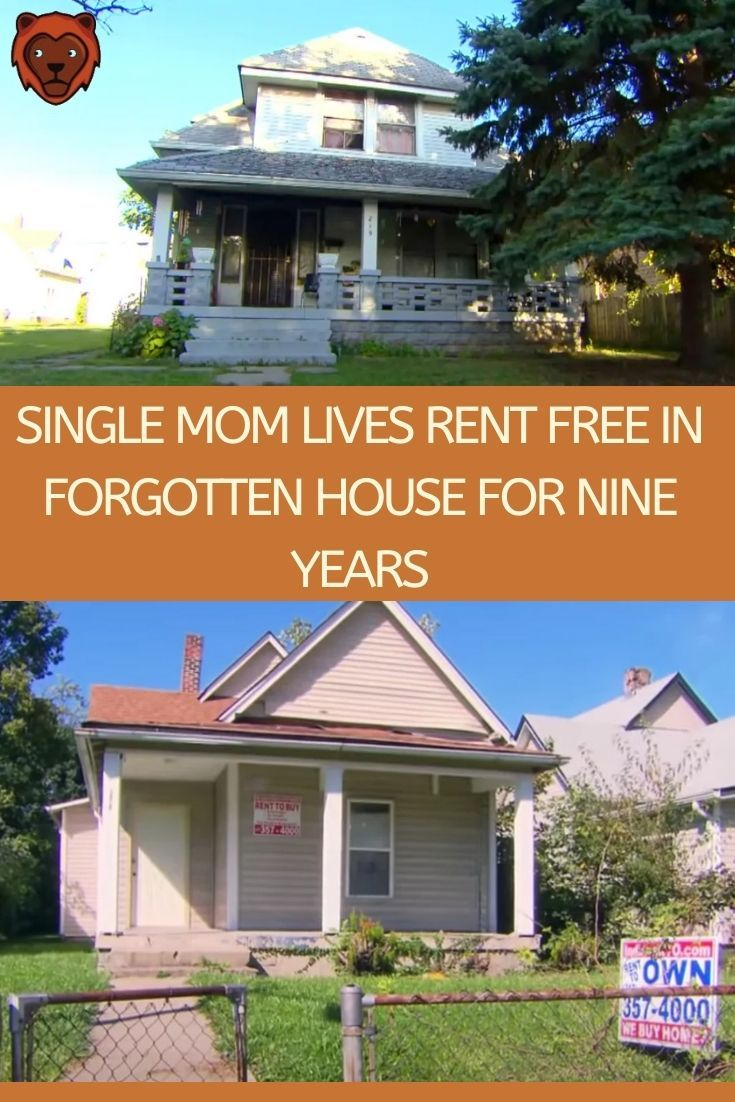 Single Mom Lives In Forgotten House Rent Free For 9 Years Single Mom Life Family Parenting Mom Life
