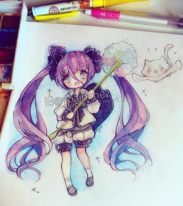 My Blade and Soul character *^* excited for the June 22 update~ i wonder if anyone here would ever find me in the game...Im in Iksanun but my name isnt yoai/yoaihime when I make characters in games xD anyways... Happy weekend everyone, I hope you all have a great one<3 #sakurakoi #watercolor #bns #bladeandsoul