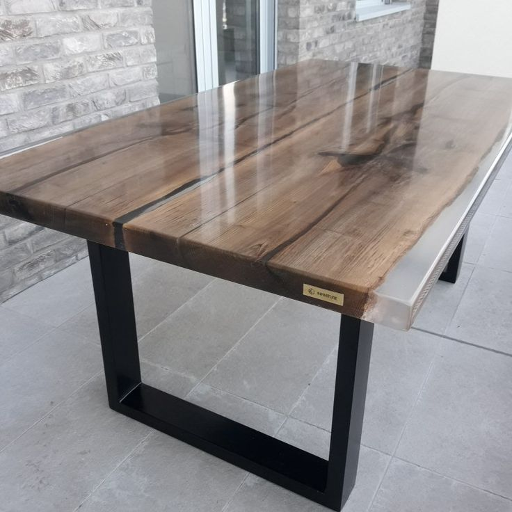 Home Epoxy Wood Table Resin Furniture Resin Table