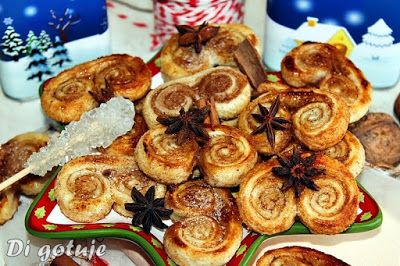 Di gotuje: Palmiery piernikowe