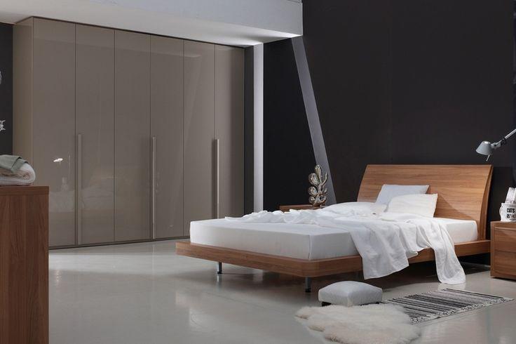 LikeWood – Monaco Oak on bedroom furniture.