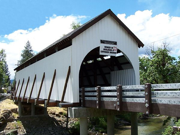 Wimer Bridge, Jackson County Oregon