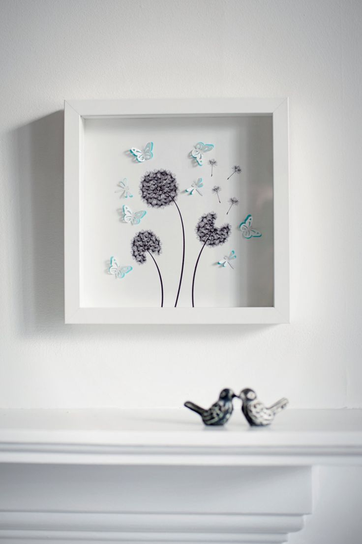 Beautiful handmade box frame picture with 3d by HarveySmithDesigns