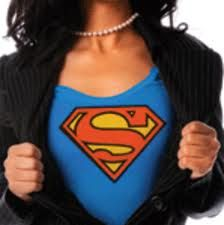 Every working mom is a super-woman! I should have bought myself the t-shirt at Six Flags!