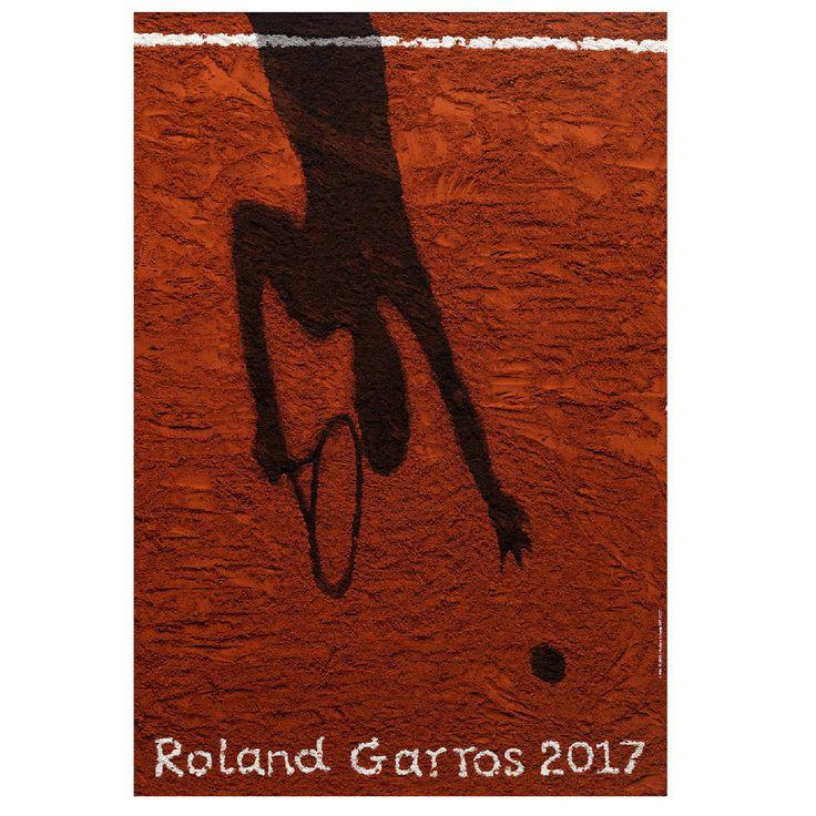 Affiche de Roland-garros 2017  © Vik Muniz-Galerie Lelong / FFT 2017