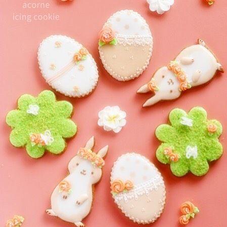 4月のアイシングクッキーレッスンのデザインです✨テーマはeaster 3/19(日)21時から募集スタートです✨是非いらして下さいね #icingcookie#decoratedcookie#decoratedsugarcookies#sugarart#cookie#sweets#royalicing#royalicingcookie#cookieart#sugardecoration#baking#instafood#instacookies#instasweet#acorne##instaphoto#instagram#sugarcookie#アイシングクッキー#アイシングクッキー教室#シュガークラフト#横浜アイシングクッキー教室#アコルネ#オーダー#easter