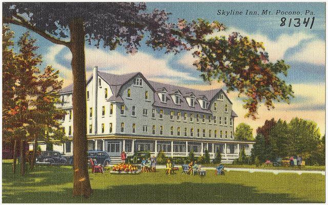 Skyline Inn, Mt. Pocono, Pa.   Flickr - Photo Sharing!