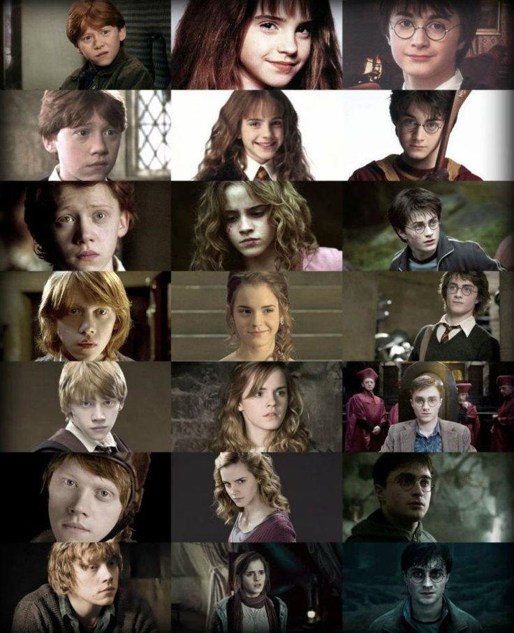 Ron weasley and hermione granger gringotts girl harry - Harry potter hermione granger ron weasley ...