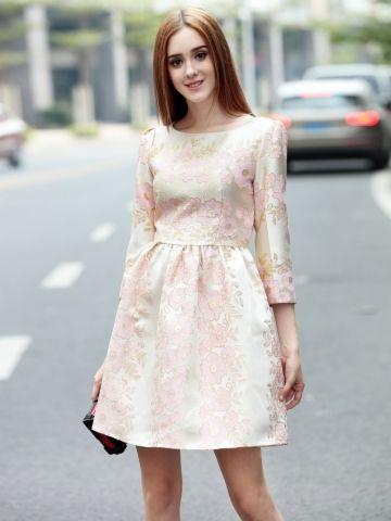 kup Kobieca sukienka a line sukienka & Sukienki - w Jollychic