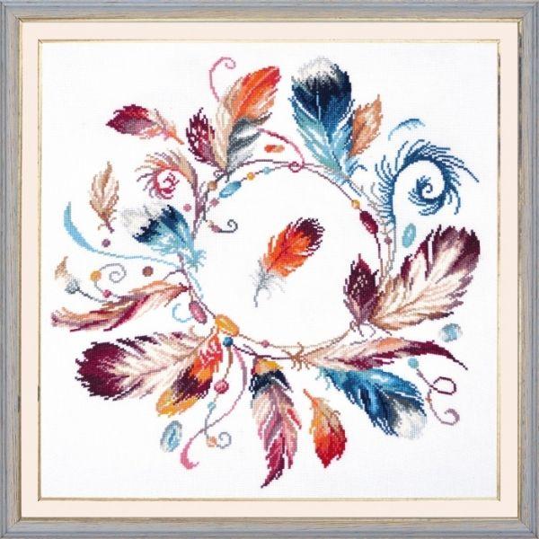 Набор для вышивки крестом Венок сновидений, арт. 919 Овен