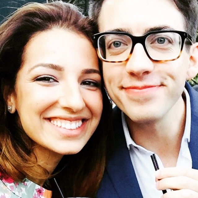 Vanessa Lengies and Kevin McHale
