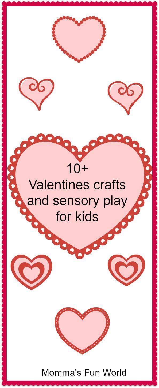 Kids Crafts For Valentines