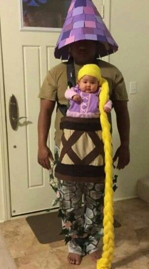 Lol baby rapunzel with tower father