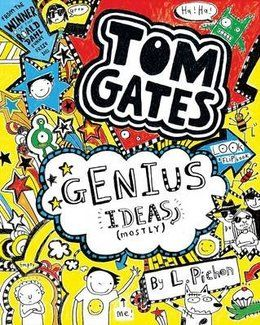 Tom Gates - Genius Ideas (Mostly) by Liz Pichon was the winner of Best Story in the 2013 Blue Peter Book Awards