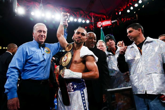Bubbles & Brawls............................ Keith Thurman VS. Luis Collazo set for July 11th at the USF Sun Dome in Tampa! - The Pugilist Report™  ------ bbbbbbaby, you ain't seen nothin' yet.... http://www.premierboxingchampions.com/keith-thurman https://www.youtube.com/watch?v=b-ScDz4Vj98 TKO - c'mon - you misheard it when you were little too....  'loved the piano in this tune.