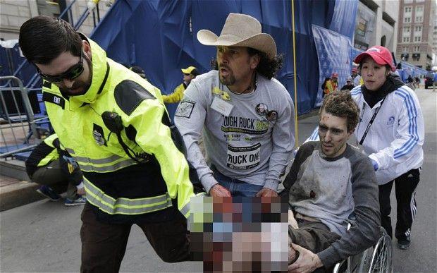 Boston Marathon victim Jeff Bauman helped identify bombers