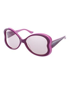 Enlarge Moschino Butterfly Frame Sunglasses