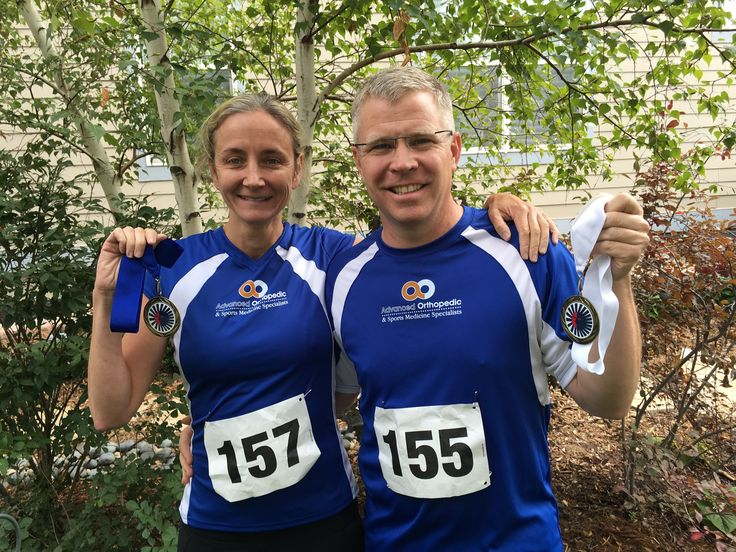 Dr. and Laura Hurley don't just run 5Ks, they win 'em