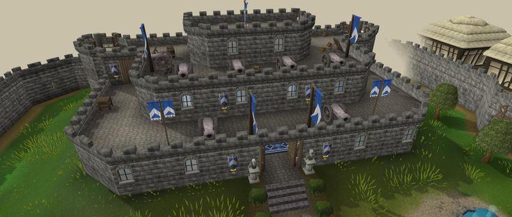 Simple Minecraft Castle Blueprints