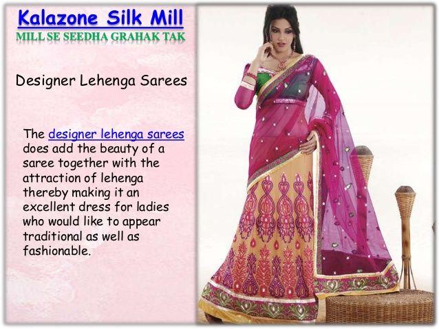 Purchase Indian Designer Lehenga Sarees Online