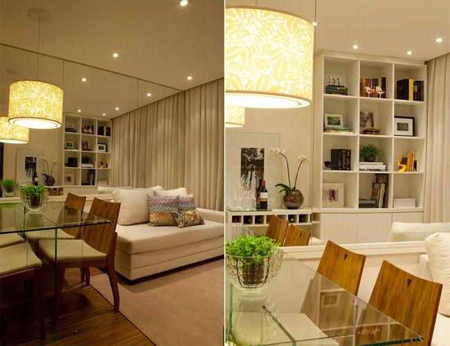 21 dicas para decorar apartamentos muito pequenos box - Decorar apartamento pequeno ...