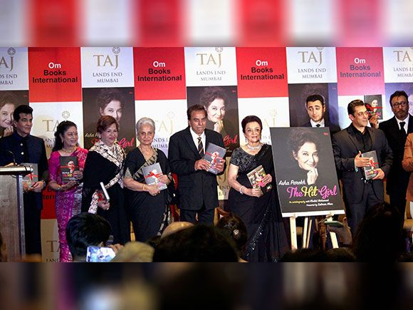 Bollywood actors Jeetendra, Aruna Irani, Helen, Waheeda Rehman, Dharmendra, Jacky shroff and Salman Khan