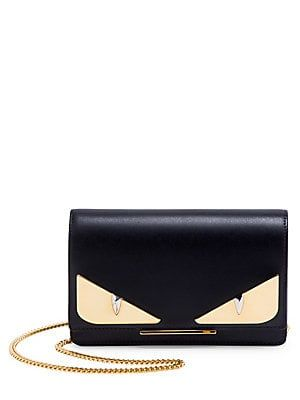 6dc4cfdbd291 Fendi Monster Black Wallet-On-Chain