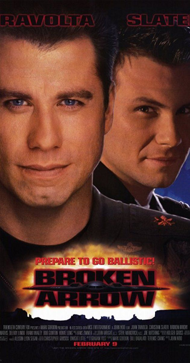 Directed by John Woo. With John Travolta, Christian Slater, Samantha Mathis, Delroy Lindo. Terrorists steal nuclear warheads from the U.S. military but don't count on a pilot and park ranger spoiling their plans.