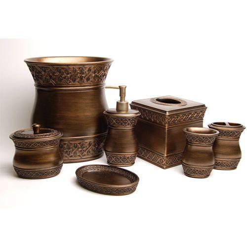 Best Bronze Bathroom Accessories Ideas On Pinterest Toilet - Copper bathroom accessories sets for bathroom decor ideas