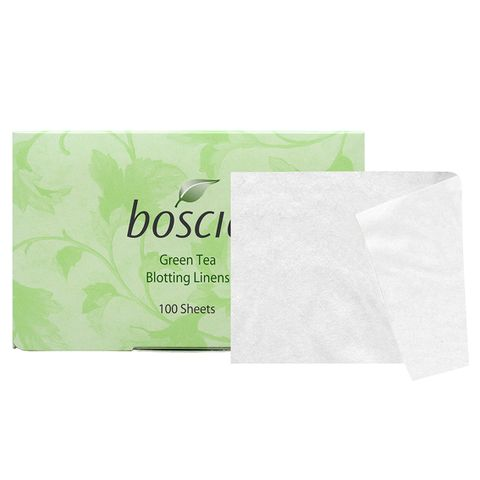 Say Goodbye to GreasySkin with theBest Blotting Papers on the Market - Boscia Green Tea Blotting Linens - from InStyle.com
