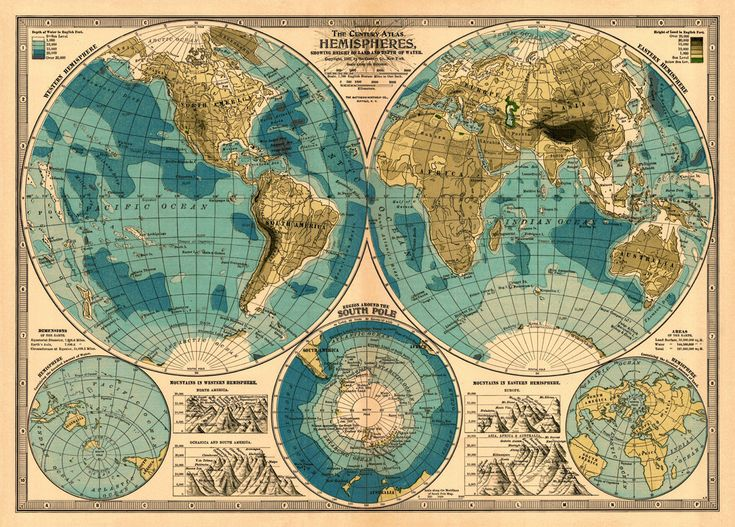 65 best old world map images on pinterest maps worldmap and decorative map of the world old map of the world giclee print gumiabroncs Images