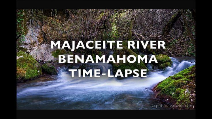Majaceite River Benamahoma Time-Lapse 4K Royalty Free Footage