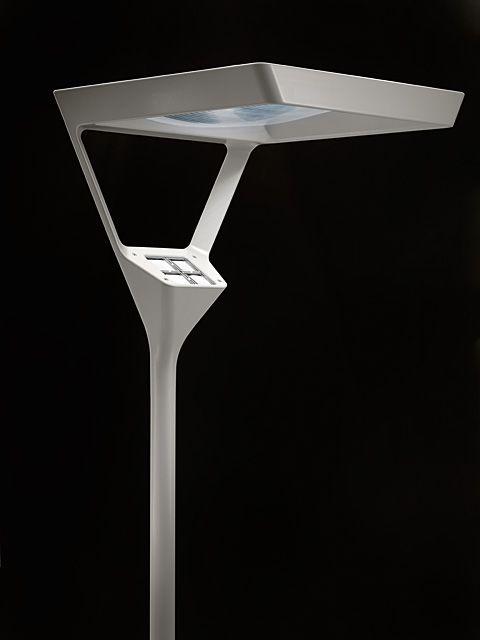 LED lamp and reflector