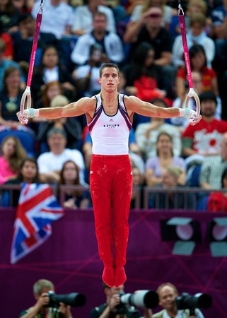 Jake Dalton. Men's Team Final at the 2012 Olympic Games at North Greenwich Arena in London, England.