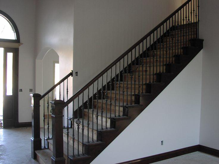 Beautiful Wood Staircase/ Railing