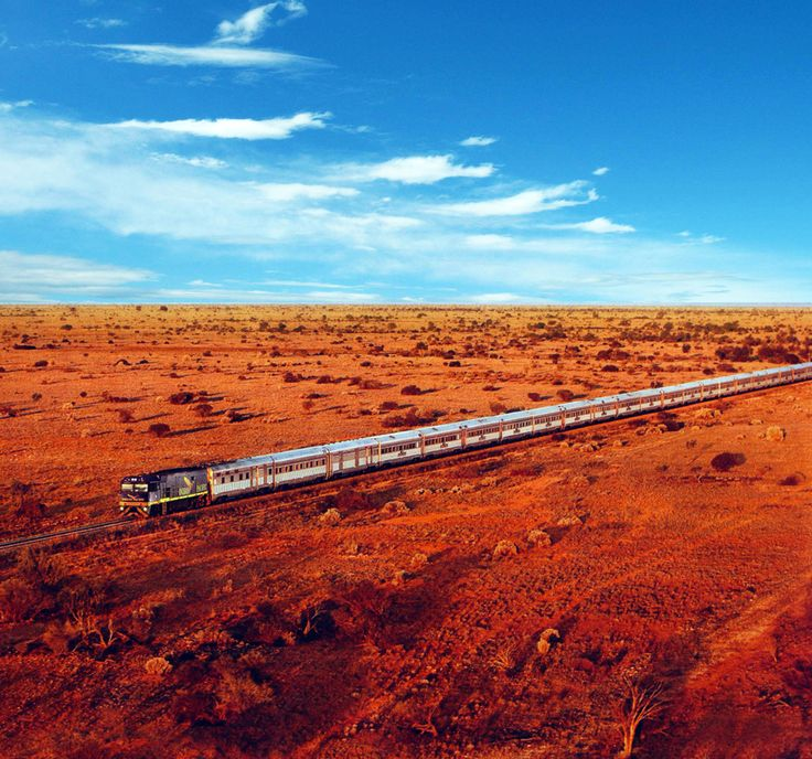 Indian Pacific - see the world through travel. These train journeys are the best around #travel #vacation #trains