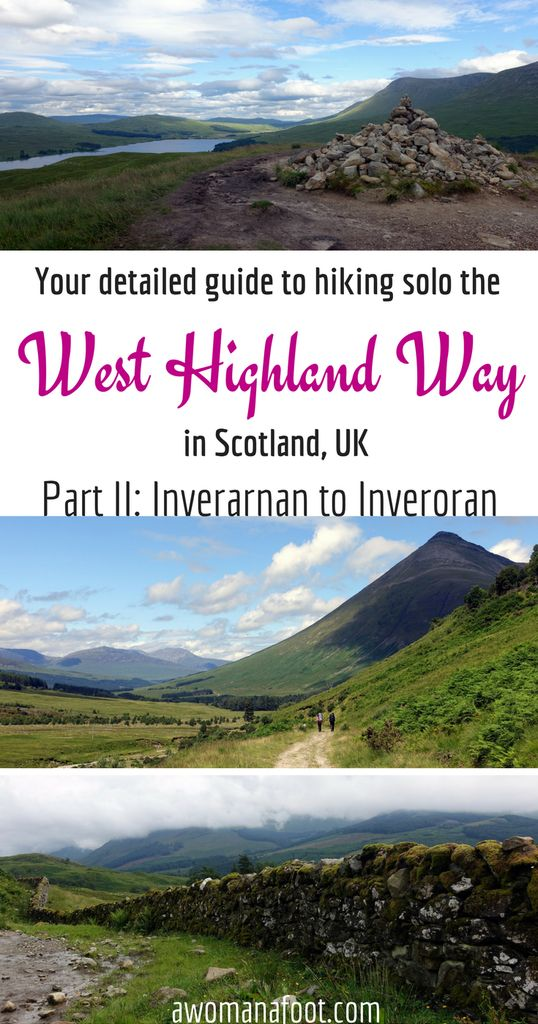 Your detailed guide to solo (female) hiking the famous West Highland Way in Scotland!   hiking in Scotland   wild camping in Scotland   hill walking in Scotland   the Scottish Highlands   female solo hiker   solo travel in Britain   WHW trail   awomanafoot.com