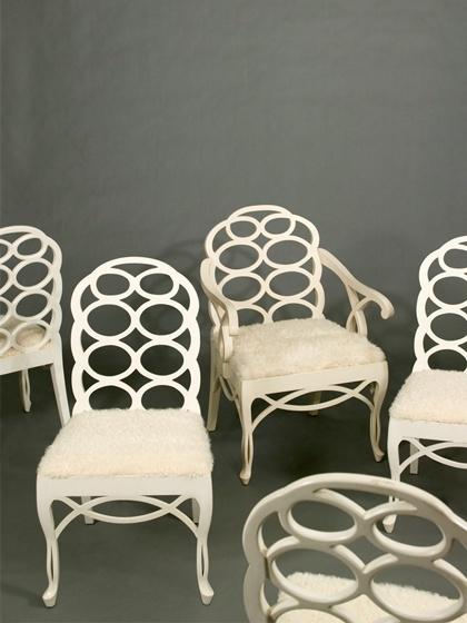 Frances Elkins Chairs At Liz Ou0027Brien
