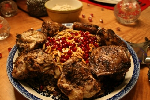 Hashweh and Lebanese Chicken: I've always wanted to make hashweh at home!