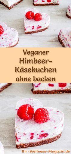 Vegane Kuchen und Süßspeisen: Rezept für einen veganen Käsekuchen - der Kuchen gelingt ohne backen, ist gesund, lecker und bekömmlich ...