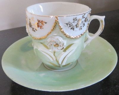 Vintage/Antique Victorian Teacup Saucer, Mothers Day gift, China Plate, Teacup, Wedding Decor
