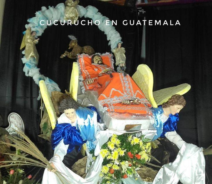 #Ahora así luce la Consagrada Imagen del Señor Sepultado de Chiantla  Huehuetenango  7mo. Aniversario de Consagración