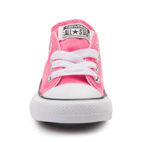 <p>This season, go for bold, with the new All Star Lo Neon Sneaker from Converse! These vibrant All Star Lo Neon Chucks rock a low-top design, constructed with a soft canvas upper, and signature Converse rubber cap toe. <b>Only available at Journeys Kidz!</b></p> <p><u>Features include</u>:</p> <ul> <li> Low top style constructed with a sturdy canvas upper</li> <li> Lace-up closure</li>...