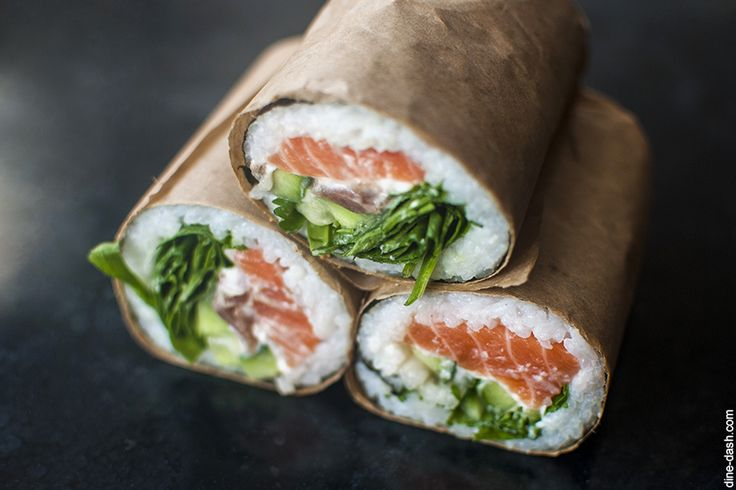sushi burrito | Food and Drinks | Pinterest
