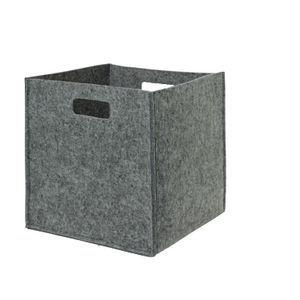 Fold N Store Felt Dark Grey - Officeworks