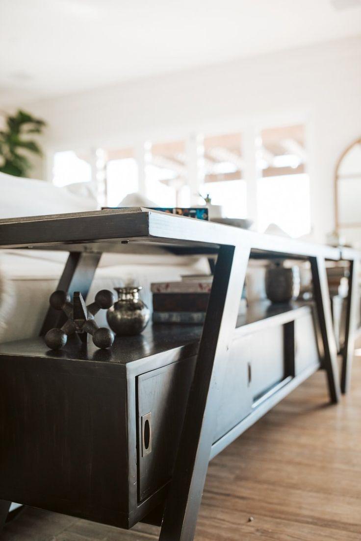 Coastal Farmhouse Living Room Reveal With Arhaus